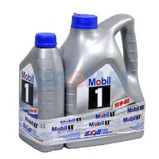 Масло моторное Mobil 1 10w60 4л+1л синтетическое