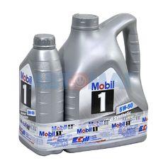 Масло моторное Mobil 1 5w50 4л+1л синтетическое