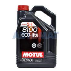 Масло моторное Motul 8100 Eco Lite 5w30 5л синтетическое