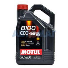 Масло моторное Motul 8100 Eco-Nergy 5w30 4л синтетическое