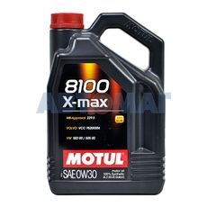 Масло моторное Motul 8100 X-max 0w30 4л синтетическое