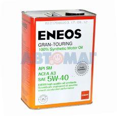 Масло моторное Eneos Gran-Touring SM 5w40 4л синтетическое