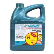 Масло моторное ADDINOL Super Power MV 0537 5w30 4л+1л синтетическое