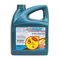 Масло моторное ADDINOL Super Light MV 0540 5w40 4л+1л синтетическое