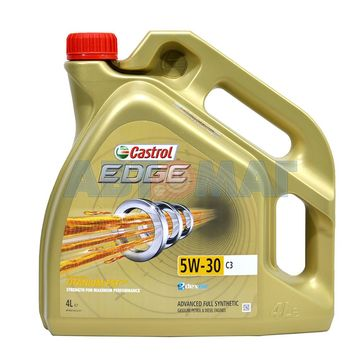 Масло моторное Castrol EDGE 5W30 C3 4л синтетическое