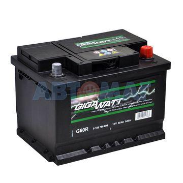 Аккумулятор GIGAWATT 60e G60R / 560 409 054 GIGAWATT