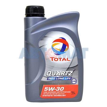 Масло моторное TOTAL Quartz INEO Long life 5w30 1л синтетическое