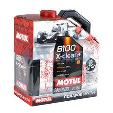 Масло моторное Motul 8100 X-Clean+ 5w30 6л синтетическое