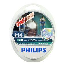 Комплект автоламп PHILIPS X-tremeVision H4 60/55W