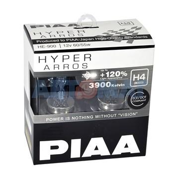 Комплект автоламп PIAA H4 60/55W 12V
