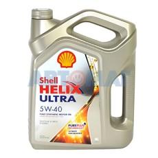 Моторное масло Shell Helix Ultra 5W40 4л синтетическое