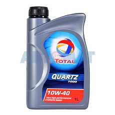 Масло моторное TOTAL Quartz 7000 10w40 1л полусинтетическое