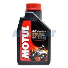 Масло моторное Motul 7100 4T 10w40 1л синтетическое