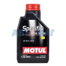 Масло моторное Motul Specific VW 505.01 - 502.00 5w40 1л синтетическое