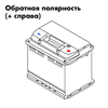 Аккумулятор КАТОД 6СТ-62N - 62 А/ч 580 А R+