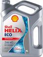 Масло моторное SHELL Helix ECO 5w40 4л синтетическое