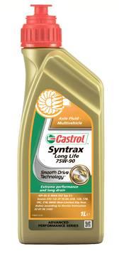 Масло трансмиссионное Castrol Syntrax Longlife 75w90 1л синтетическое