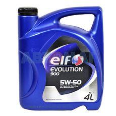 Масло моторное Elf Evolution 900 5w50 4л синтетическое