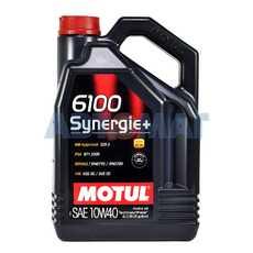 Масло моторное Motul 6100 Synergie+ 10w40 4л полусинтетическое