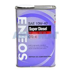 Масло моторное Eneos CG-4 10w40 0.94л полусинтетическое