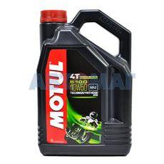 Масло моторное Motul 5100 4T 10w50 4л полусинтетическое