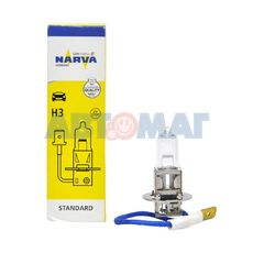 Автолампа H3 55W 12V NARVA 48321 (шт)