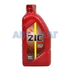 Масло трансмиссионное ZIC G-5 80w90 GL-5 1л полусинтетическое