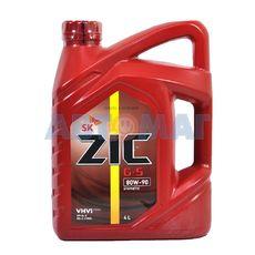 Масло трансмиссионное ZIC G-5 80w90 GL-5 4л полусинтетическое
