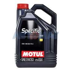 Масло моторное Motul Specific Ford 913D 5w30 5л синтетическое