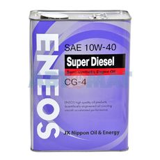 Масло моторное Eneos CG-4 10w40 4л полусинтетическое