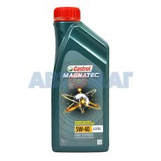 Масло моторное Castrol Magnatec A3/B4 5W40 1л синтетическое