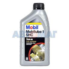 Масло трансмиссионное Mobilube 1 SHC 75w90 синтетическое 1л