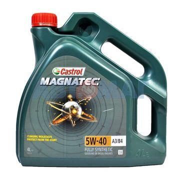 Масло моторное Castrol Magnatec A3/B4 5W40 4л синтетическое