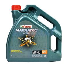 Масло моторное Castrol Magnatec Diesel 5W40 DPF C3 4л синтетическое