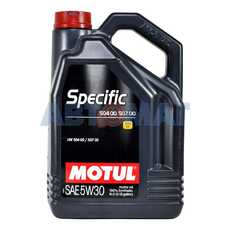 Масло моторное Motul Specific VW 504-507 5w30 5л синтетическое