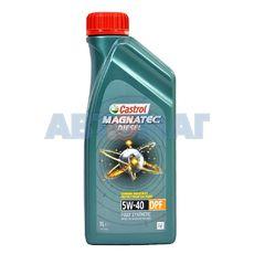 Масло моторное Castrol Magnatec Diesel 5W40 DPF C3 1л синтетическое
