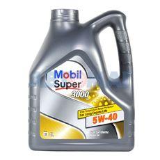 Масло моторное Mobil SUPER 3000 X1 5W40 4л синтетическое