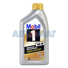 Масло моторное Mobil 1 0w40 1л синтетическое
