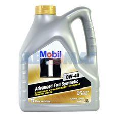 Масло моторное Mobil 1 0w40 4л синтетическое