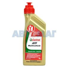 Масло трансмиссионное Castrol ATF Multivehicle 1л минеральное