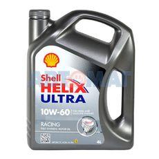 Масло моторное Shell Helix Ultra Racing 10W60 4л синтетическое