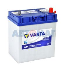 Аккумулятор VARTA Blue Dynamic A14 540 126 033 - 40 А/ч 330А