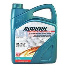 Масло моторное ADDINOL Super Power MV 0537 5w30  4л синтетическое