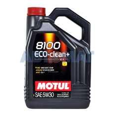 Масло моторное Motul 8100 Eco-Clean+ 5w30 5л синтетическое