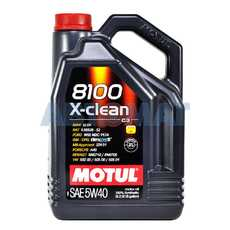 Масло моторное Motul 8100 X-Clean C3 5w40 5л синтетическое