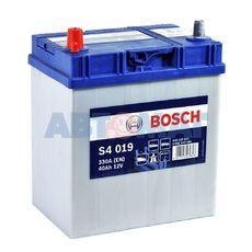 Аккумулятор BOSCH S4 Silver 540 127 033 (0092S40190) - 40 А/ч 330 А