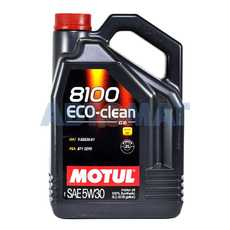 Масло моторное Motul 8100 Eco-Clean C2 5w30 5л синтетическое
