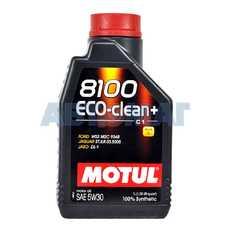 Масло моторное Motul 8100 Eco-Clean+ 5w30 1л синтетическое