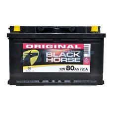 Аккумулятор BLACK HORSE - 80А/ч 720А +D
