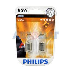 Комплект автоламп PHILIPS R5W 12V 12821